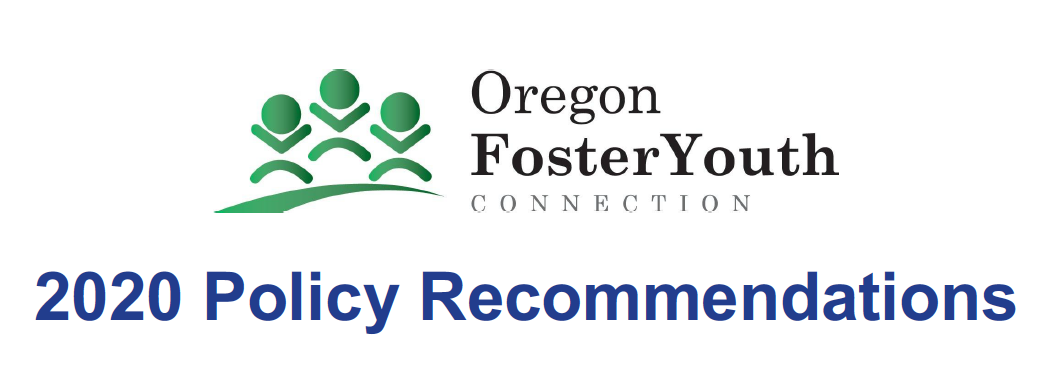 2020 Policy Recommendations